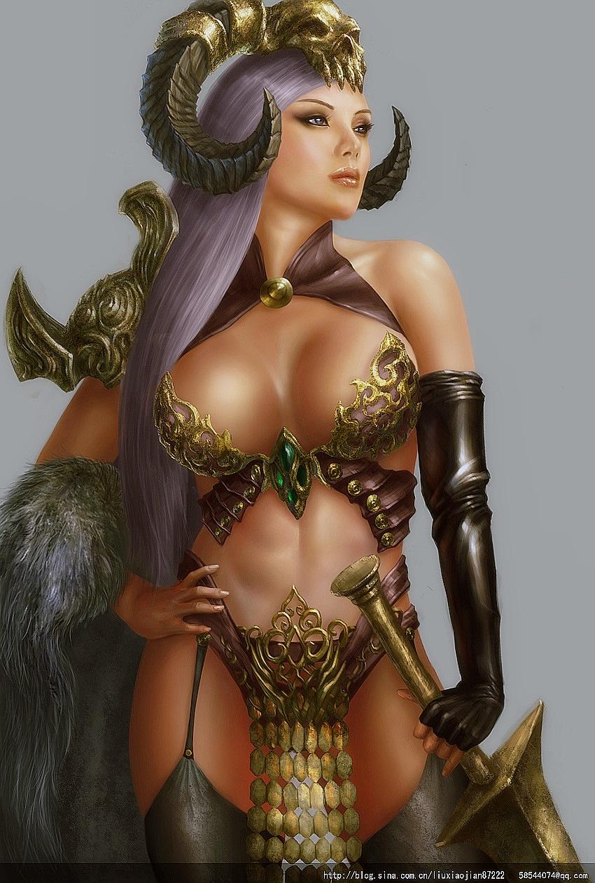 Warrior women nude foto blog sexy clip
