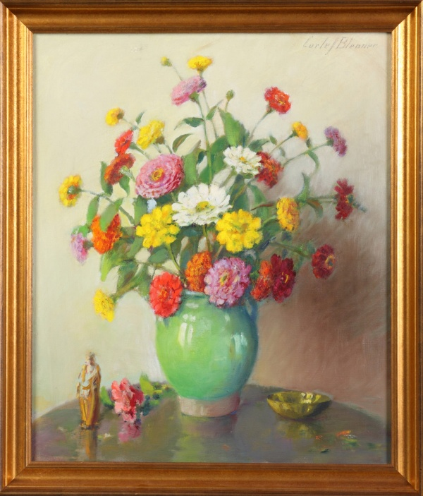 Американский художник Carle John Blenner (1864-1952) (38 фото)