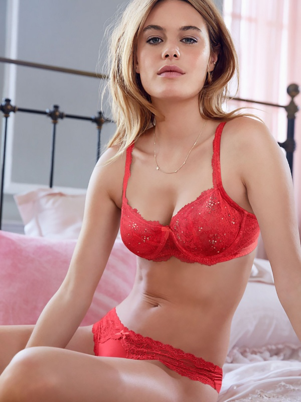 Camille Rowe - Victoria's Secret Photoshoot 2014 Set 11 (85 фото)