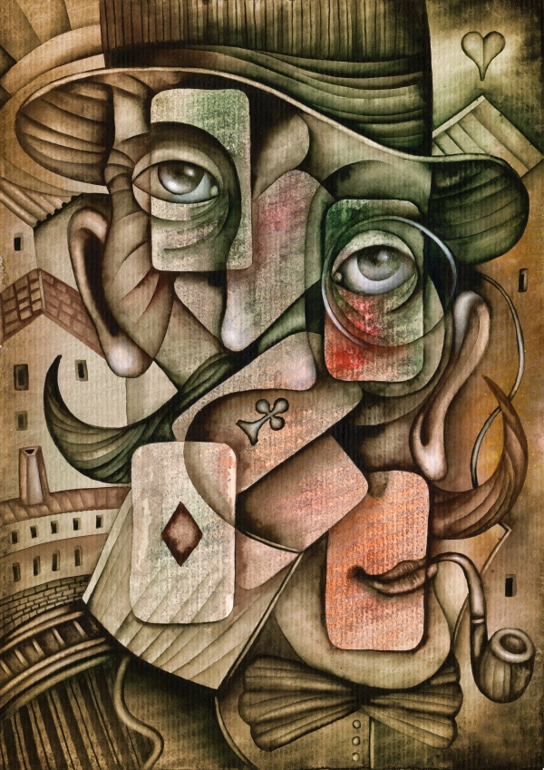 Cubistic art and the paintings in the cubist style - 25 HQ Jpg (25 фото)