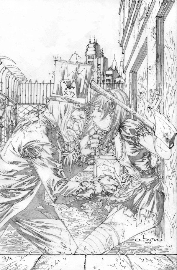 Работы американского художника комиксов Eric Basaldua. (440 фото)