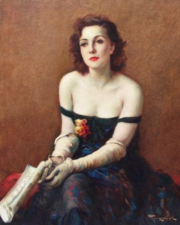 Бельгийский художник Fernand Toussaint (1873-1956)