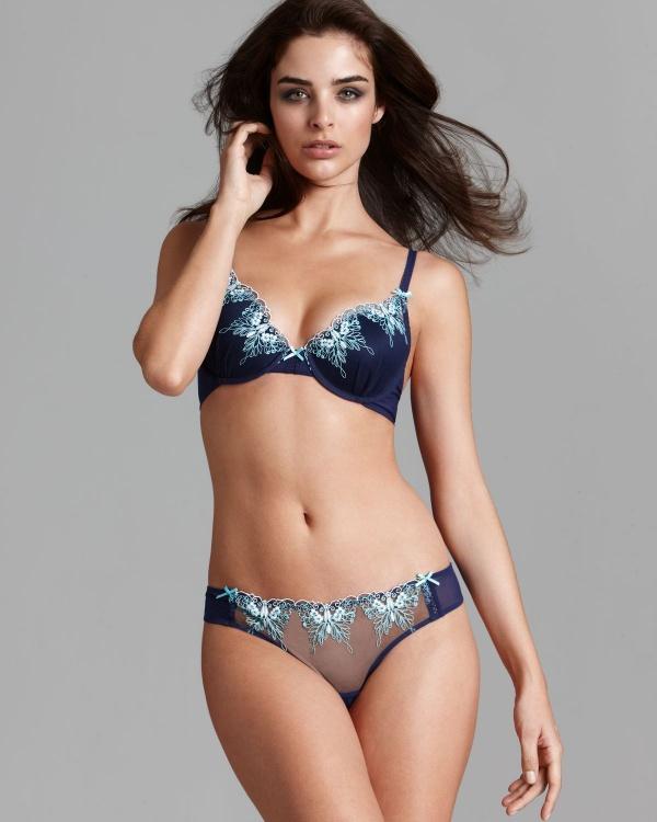 Fernanda Prada - Bloomingdale's Swimwear & Lingerie (65 фото)