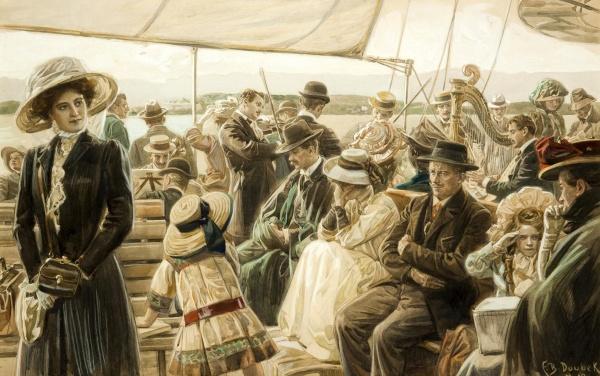 Чешский художник Franz Bohumil Doubek (Czech, 1865-1952) (26 фото)