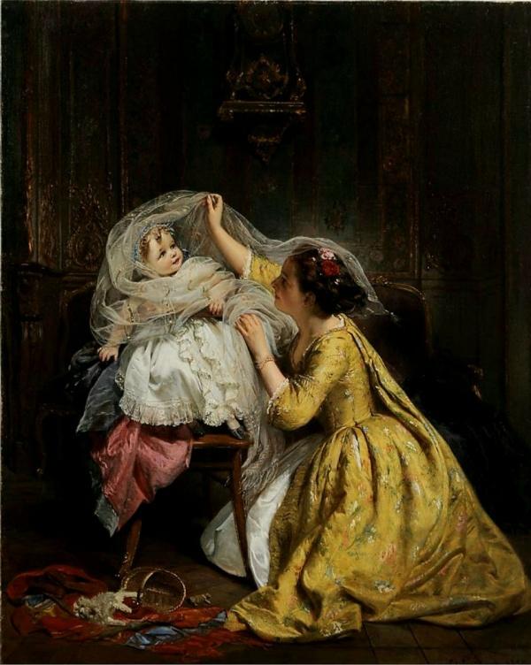 Французский художник Henry Guillaume Schlesinger (French, 1814-1893) (29 фото)