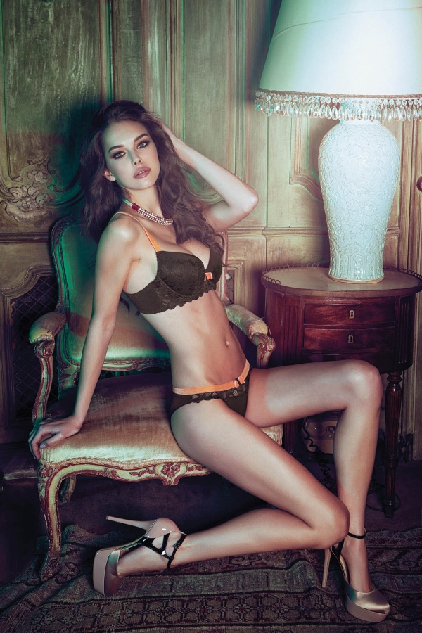 Iris Kavka - Incanto Lingerie Autumn-Winter 2014-2015 (39 фото)