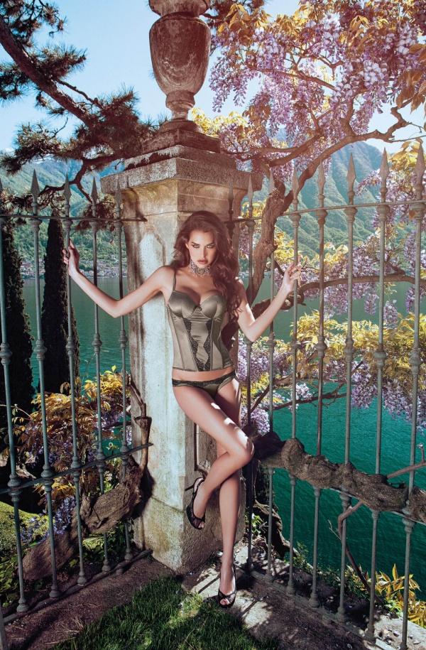 Iris Kavka - Incanto Lingerie Autumn-Winter 2014-2015 (39 фото)