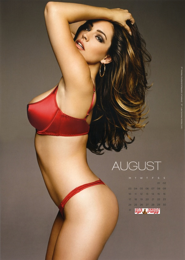 Kelly Brook – Calendar 2015 (14 фото)