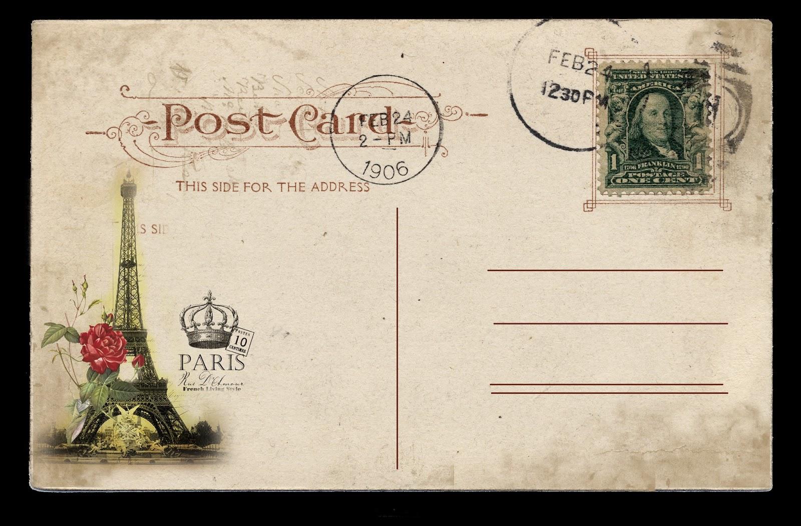 Почтовая открытка- английский перевод - словарь 48