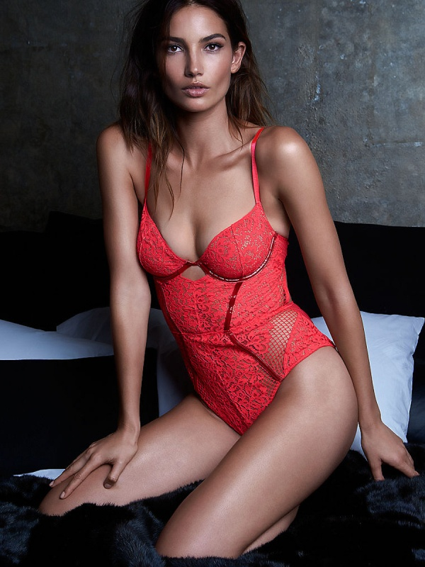 Lily Aldridge - Victoria's Secret Photoshoots 2014 Set 16 (55 фото)