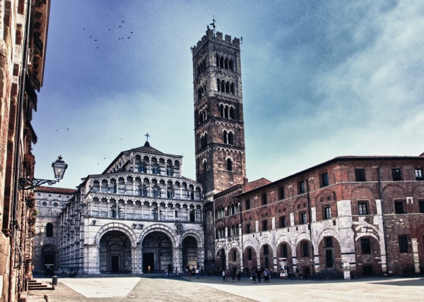 Amazing Italy HDR Photos (Pisa, Lucca) (56 фото)