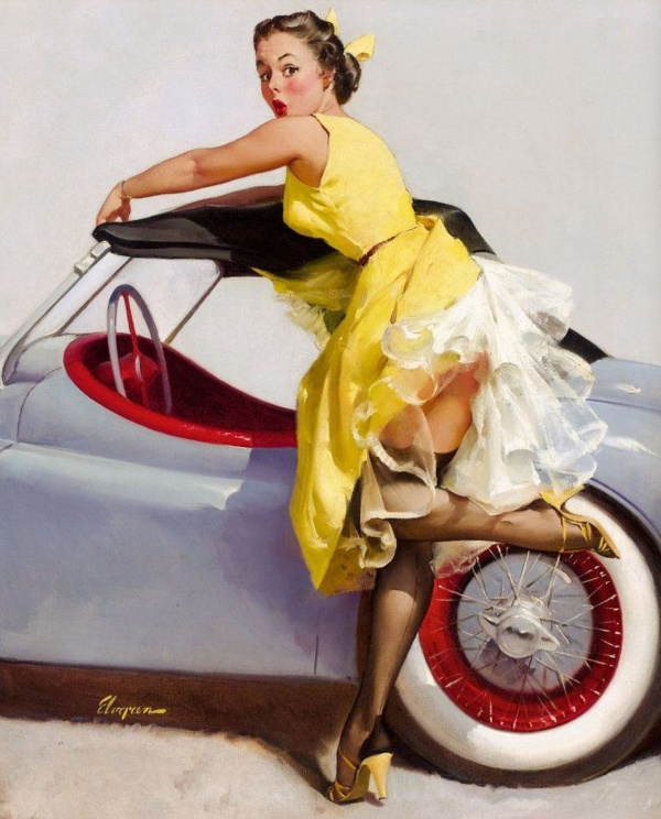 Pin-up art images collection #1 (95 фото)