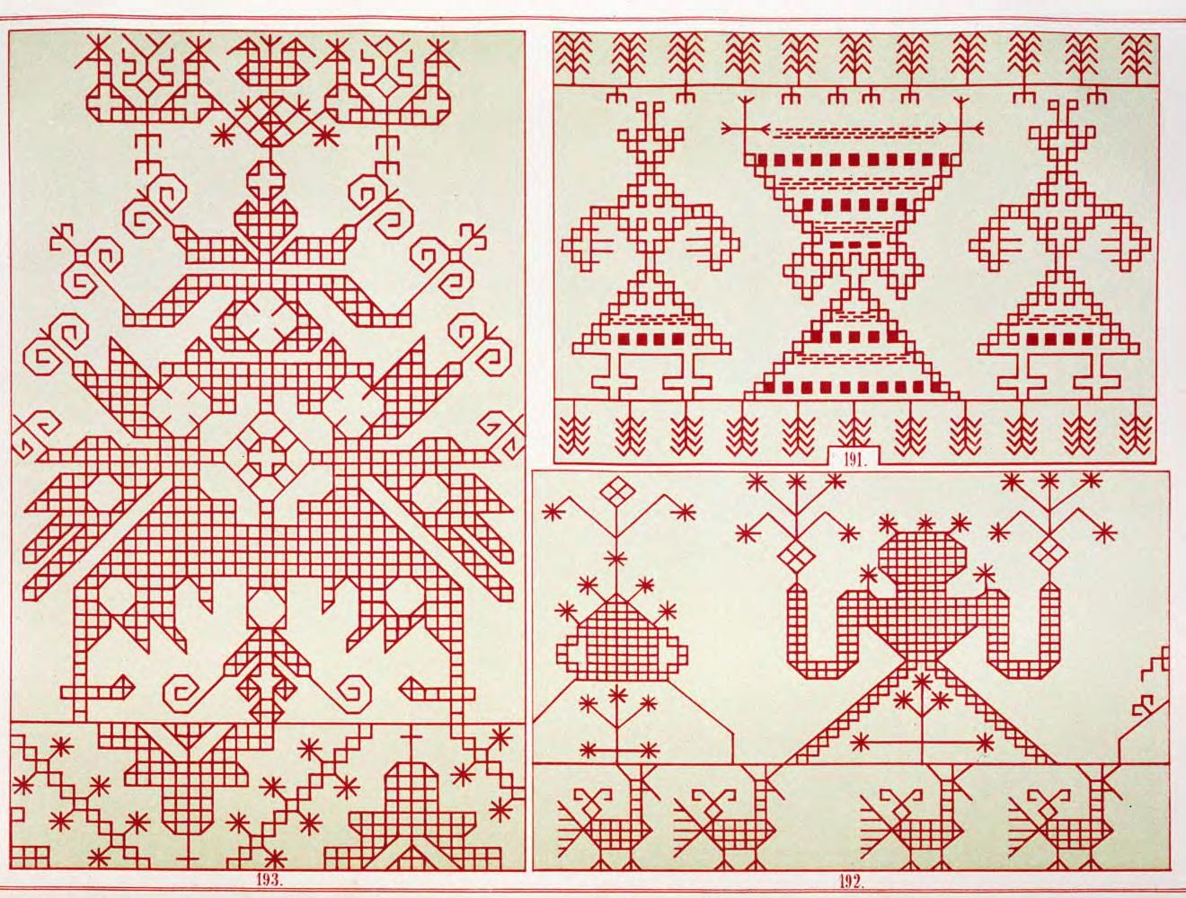Славянские мотивы в вышивке 66