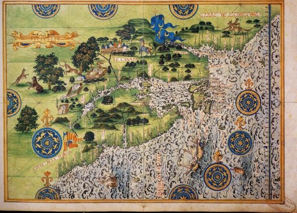 Старинные морские карты, диаграммы, гравюры, рисунки. XIII-XVIII в.в.