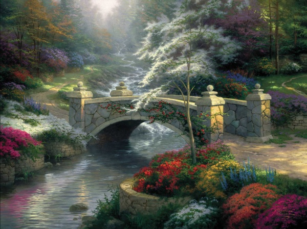 Thomas Kinkade - Prints Pack (324 фото)
