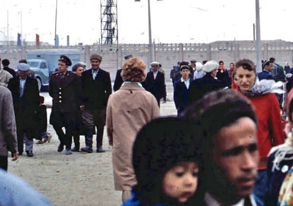 Цветные фотографии СССР: Визит американца Френсиса в 1966 г. (194 фото)